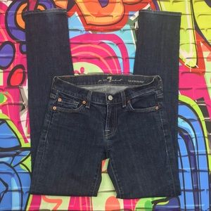 7 For All Mankind Roxanne jeans size 25